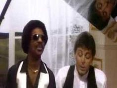 Ebony & Ivory - Stevie Wonder & Paul McCartney Official Music Video, Love this song!!:)
