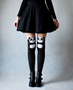 Panda Girl Leggins - LEGGINSY PANDA Our collection of unique leggings with orginal prints  #leggings #print #yogapants #pants #panda #legginsy #getry #unikatowe #nadruki #kolekcja #autorska #motyw #pandy #projekty #spodnie #drukowane #nadruk #brzozowska #brzozowskafashion