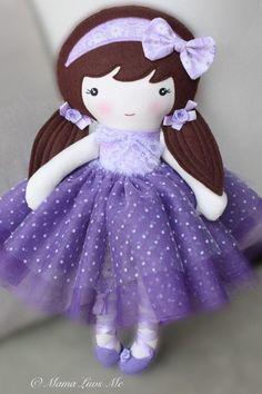 love this purple doll