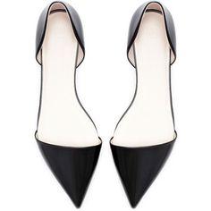 Zara Pointed Flat Shoe