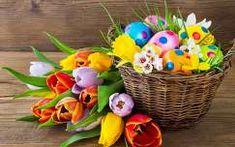 Húsvét,ibolya,tavasz háttérkép 38661