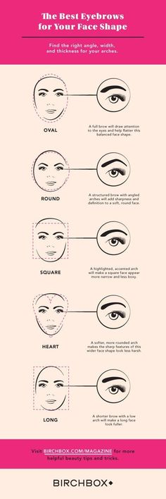 17 Genius Tricks For Getting The Best Damn Eyebrows Of Your Life Determine the best eyebrow shape for your face. – Das schönste Make-up Arched Eyebrows, Eye Brows, Eyebrow Tutorial, Tutorial Nails, Best Eyebrow Products, Beauty Products, Makeup Products, Perfect Eyebrows, Best Eyebrows
