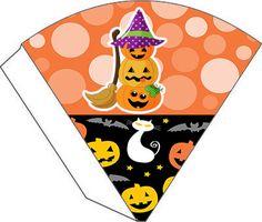 Boa noite! Estou postando um kit de personalizado para festa de halloween.Fiquem a vontade para baixar e utilizar em suas festas. Este est...