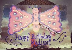 Butterfly Pull-apart Cake