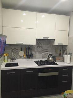 Кухонный гарнитур, маленькая кухня фото, кухня 6 кв м