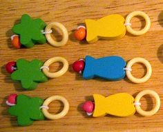 Dollar store stitch markers
