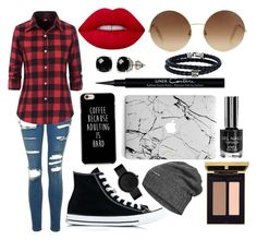 """""""Coffee In Autumn"""" by alivia-yates on Polyvore featuring Topshop, Converse, Victoria Beckham, Lime Crime, Givenchy, The North Face, Belk & Co. and Phillip Gavriel"""