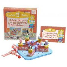 Intended to inspire the next generation of female engineers, GOLDIE BLOX AND THE SPINNING MACHINE is an interactive book + construction toy starring Goldie, a curious girl with a love of engineering. Top Gifts For Girls, Gifts For Kids, Engineering Toys For Girls, Spinning, Geek Toys, Top Toys, Toys R Us, Looks Cool, Just In Case