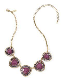 Magenta Medallions Necklace! ONLY $28 www.cookielee.biz/MaureenLedon