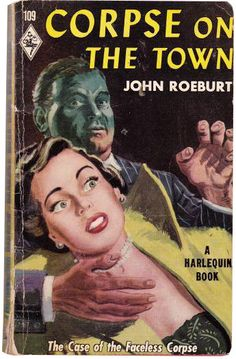 Corpse on the Town by John Roeburt (1950)