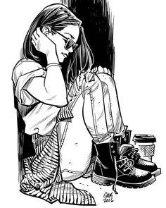 Art by Cameron Stewart Ink Illustrations, Illustration Art, Batman, Skyline Art, Photography Poses For Men, Inspirational Artwork, Artist Life, Art Challenge, Comic Artist