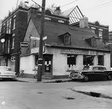 Image result for Rue De Montigny montreal 1950