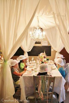 Tea Party Themed Birthday Party