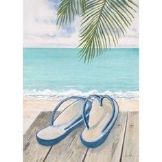 Beach Comfort Canvas Art - Arnie Fisk (18 x 24)