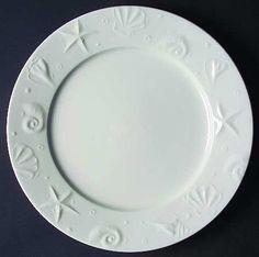 Thomson Seashells Dinner Plate, Fine China Dinnerware by Thomson. $9.99. Thomson - Thomson Seashells Dinner Plate - White On White Embossed Seashells
