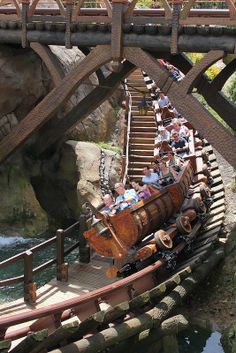 Seven Dwarfs Mine Train at The Magic Kingdom at Walt Disney World, FL