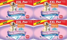 Hartz Home Protection Lavender Odor Eliminating Dog Pads XXL 160ct 4 x 40ct *** To view further for this item, visit the image link. (This is an affiliate link)