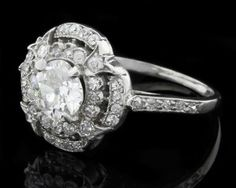 Antique Engagement Ring MTC009