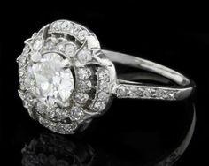 Antique Engagement Ring MTC009