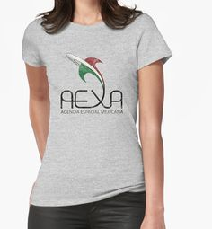"""AEXA Mexican Space Agency"" T-Shirts & Hoodies by Lidra 