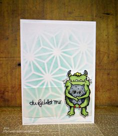 Stampotique_Little Hoo Hoo_Miss you card stamp cuisine Good thoughts I Miss You Karte_clean and simple