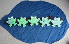 5 speckled frog song interactive