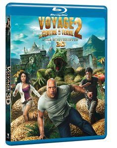 VOYAGE AU CENTRE DE LA TERRE 2 : L'ILE MYSTÉRIEUSE [Combo Blu-ray 3D + Blu-ray 2D] NEUF SOUS BLISTER (-20%) 19,92€