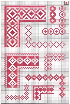 Cross-stitch borders                                                       …
