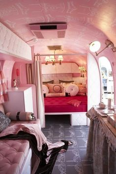 Monday Inspiration PINK, PINK BARBIE SHOES, PINK CAMPER, PINK CAR, PINK KITCHEN, PINK LIP COUCH, PINK LIP PHONE, PINK POODLE