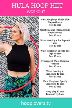 Let's #hiit the hoop for the most fun workout you might not have tried yet! Follow along with the free workouts on Hooplovers.tv