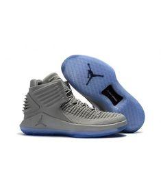 2017 new release air jordan 32 blue sole grey flyknit vamp on sale - Cheap Air Jordan Store Jordan Shoes For Sale, Cheap Jordan Shoes, Air Jordan Shoes, Nike Shoes Online, Cheap Shoes Online, Grey Sneakers, Grey Shoes, Jordan Store, Cheap Air