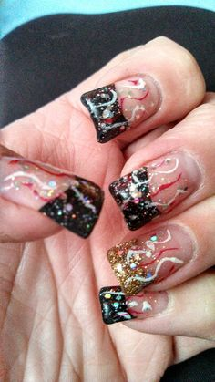 My new years nails