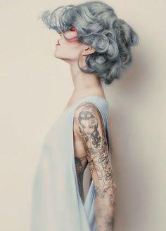 gray granny #hair #trend