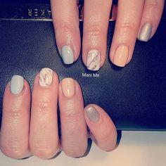 #nails #gelnails #polish #naturalnails #nailsonfleek #marblenails #marble #handpainted