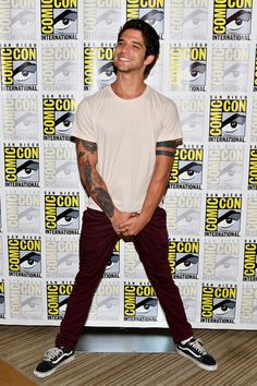 "Actor Tyler Posey at the ""Teen Wolf"" Press Line during Comic-Con International 2017 at Hilton Bayfront on July 21, 2017 in San Diego, California."