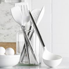 Williams-Sonoma Stainless-Steel Silicone Tools, by Phil Rose