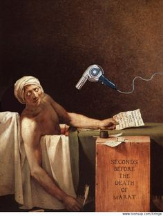 Death of Marat: Seconds Before the Death of Marat