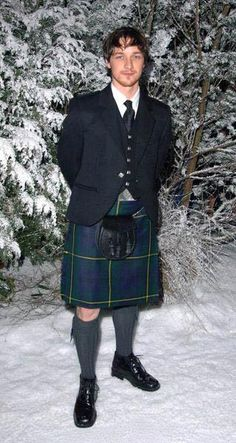 Ummm Yes. Nothing says confident than a man in a kilt!!