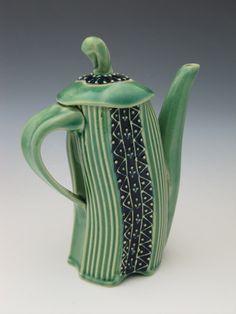 Whimsical Teapot dancing in joy