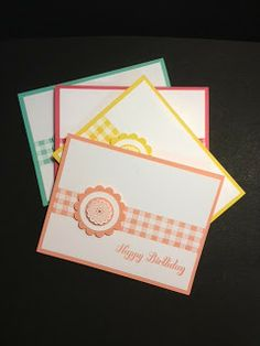 My Creative Corner!:  Stampin' Up! Rubber Stamping Handmade Cards