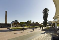 University of Western Sydney, Parramatta Campus // Taylor Brammer Landscape Architects