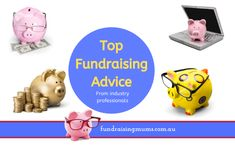 Top Fundraising Advice   Tips from Professionals   Fundraising Mums Katie Jackson, School Fundraisers, Raise Funds, Ask For Help, How To Raise Money, Nice Things, Book Publishing, Piggy Bank, Fundraising