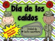 Memorial Day Blog Hop FREEBIE in Spanish