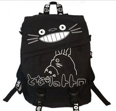 New My Neighbor Totoro School Bag Shoulder Bag Ghibli Backpack Bookbag Water Proof japanese Anime Cosplay black free shipping-in Action & Toy Figures from Toys & Hobbies on Aliexpress.com | Alibaba Group