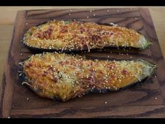Miso Grilled Eggplant - Nikkei Cuisine - YouTube