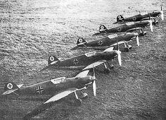 """Messerschmitt Bf109 B """"Bruno"""" series - BFD"""