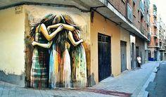 Artist: Alice Pasquini  Location: Salamanca Spain  Photo: repost - check out @alicepasquini for more amazing murals!  ℹ More info at StreetArtRat.com  #travel #streetart #street #streetphotography #tflers #sprayart #urban #urbanart #urbanwalls #wall #wallporn #graffitiigers #stencilart #art #graffiti #instagraffiti #instagood #artwork #mural #graffitiporn #photooftheday #streetartistry #pasteup #instagraff #instagrafite #streetarteverywhere #repost