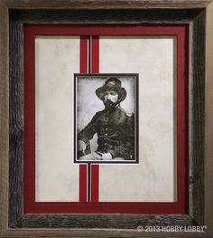 Did you know that we have hundreds of ways to customize your antique photography?  Visit our custom framing specialists for more details.