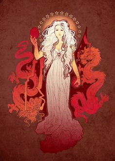 Game of Thrones. Daenerys.  The Mother of Dragons.
