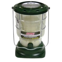 The best way to keep the mosquitoes away -- Coleman Citronella Lantern